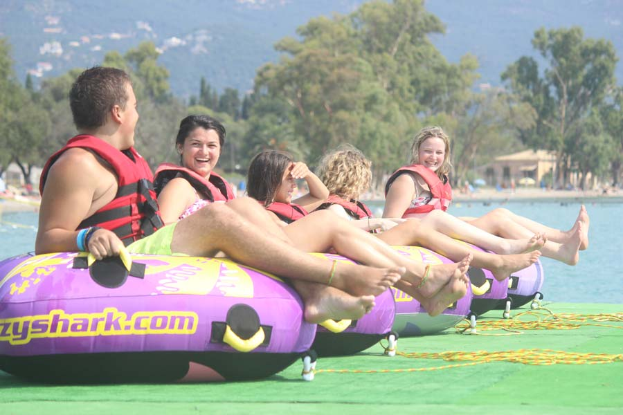 dassia-ski-club-watersports-rings-corfu-inflatables-fun-dassia-sea-summer-beach-coast-adrenaline-yacht-towing-waves-sports-friends-family-summer-in-corfu-holidays-vacation-freetime-funtime-activities-ringos