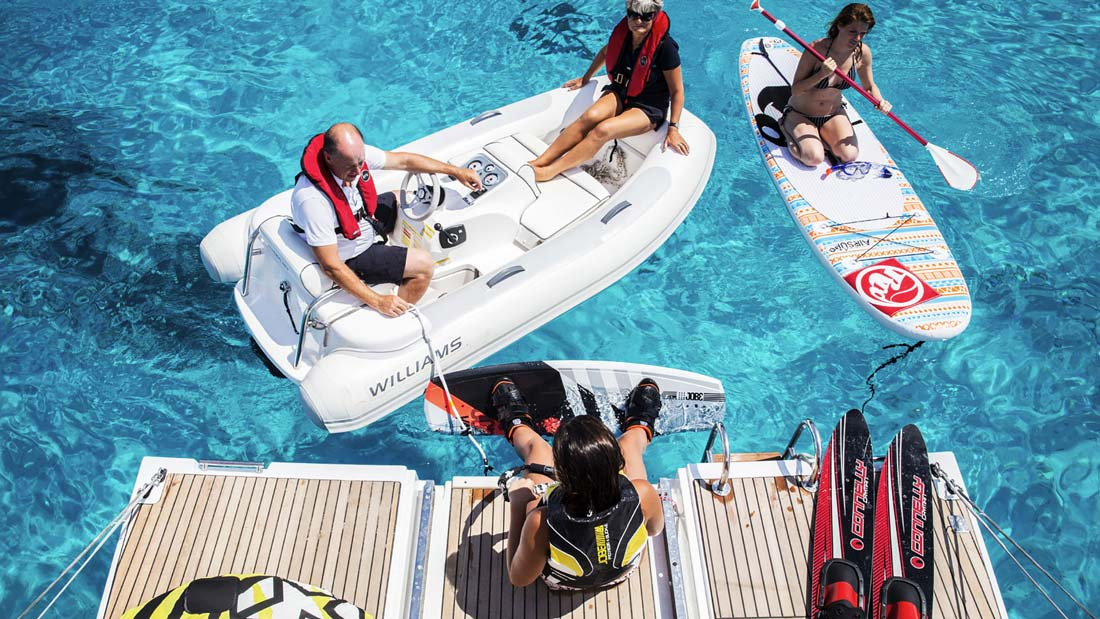 watersports-dassia-dassia-ski-club-preparation-yachts-athletes-adrenaline-instructor-operator-wakeboard-sup-platform-summer-sun-waves-blue-waters